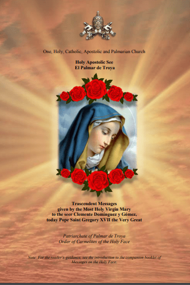 """<a href=""""https://www.palmarianchurch.org/wp-content/uploads/2018/11/Messages-of-the-Most-Holy-Virgin-Mary.pdf"""" title=""""Messages on the Most Holy Virgin Mary"""">Messages on the Most Holy Virgin Mary  <br> <br> Read more"""