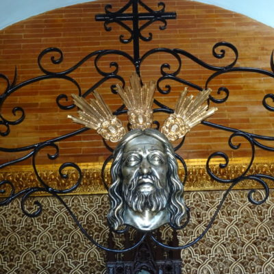 The Holy Face in the Chapel of the Holy Well