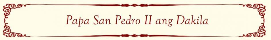 Pope-Peter-II-Banner-Filipino